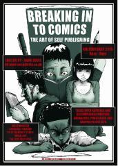 Breaking into comics event 2015