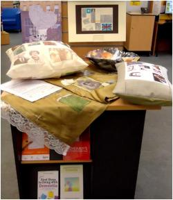 Remembering Together artefacts at Paddington Library
