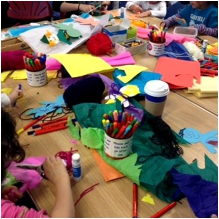 Saturday crafts drop in at Marylebone Library