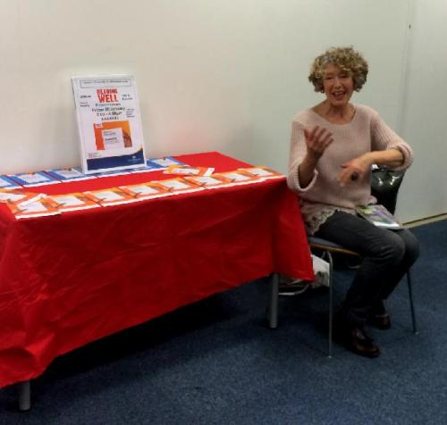 Diane Sherlock at the Pimlico Library launch of Reading Well Books on Prescription - Dementia Collection