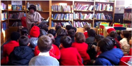 Siigistardust at Mayfair Library for National Storytelling Week