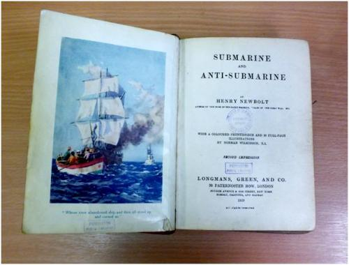 Submarine and anti-submarine, by Sir Henry John Newbolt