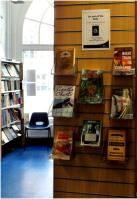'On and off the rails' display at Charing Cross Library