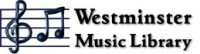 Westminster Music Library logo