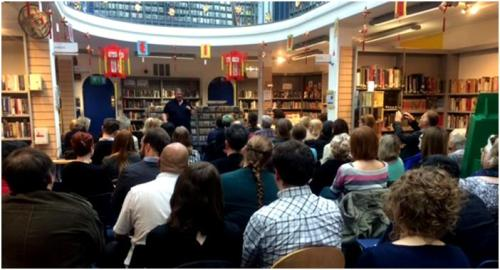 Ben Aaronovitch at Charing Cross Library for Cityread London, April 2015