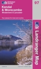 Kendal, Morecambe, Windermere and Lancaster Ordnance Survey map