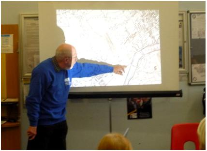 Robert Squires talks about the Lost Rivers of London at Paddington Library