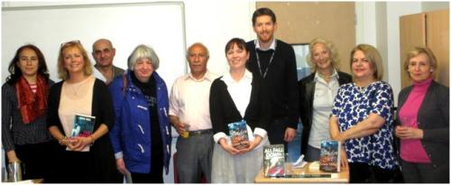 World Book Night 2015 at Pimlico Library, with authors Louise Voss and Louise Millar