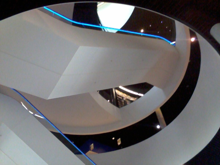 Inside the new Library of Birmingham. Photograph by Margaret Jones.