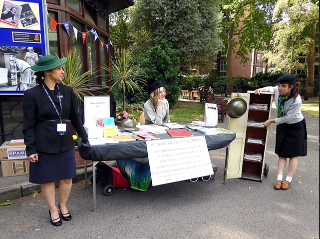 Marylebone Library in the Park 2015