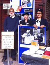 Marylebone Library in the Park 2015 - Francis, Anabel, Sabina