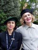 Marylebone Library in the Park 2015 - Anabel and Nada