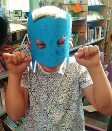 Record Breakers 2015: Sketch a Superhero event at Maida Vale Library