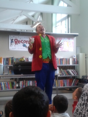 Record Breakers 2015 Boo Hiccup event at Maida Vale Library
