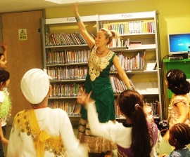 Record Breakers 2015: Bollywood Dance event at Church Street Library