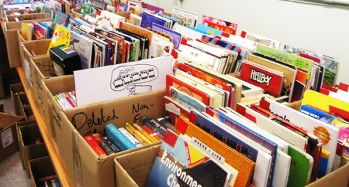Maida Vale Library book sale 2015