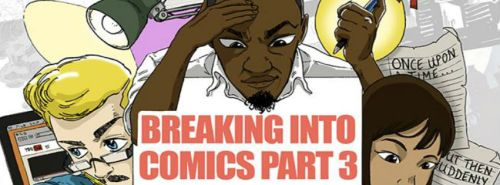 Breaking into Comics 3. Image: Theo Mabayoje for Industry in the Streets (IITS) www.industryinthestreets.co.uk