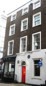10 Norfolk Street (now 22 Cleveland Street W1)