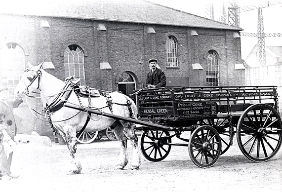 Gas Light and Coke Company - Kensal Green Works 1909. Image property of Westminster City Archives