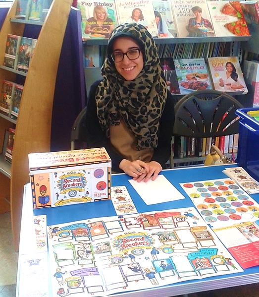 Zahra, Summer reading Challenge Volunteer 2015