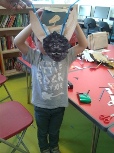 Mask-making from the Wallace Collection at St John's Wood library