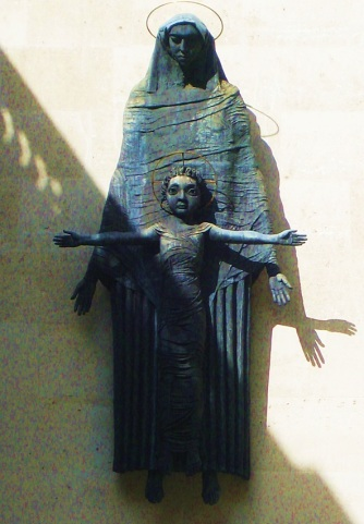 Our Lady and the Holy Child by Jacob Epstein