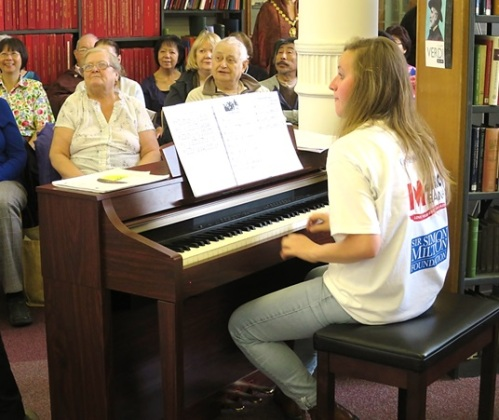 Silver Sunday at Westminster Music Library, October 2015
