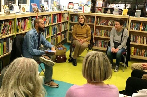 Dean Atta at St John's Wood Library, November 2015