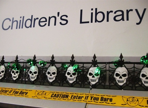 Hallowe'en at Maida Vale Library 2015