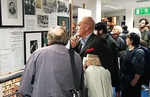 'Mussolini's Folly – Farce & tragedy in Little Italy' exhibition at Charing Cross Library , November 2015