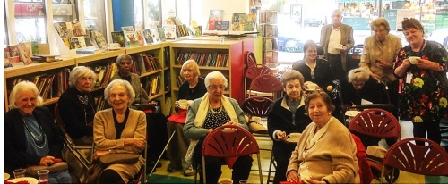 Poems and Pastries at St John's Wood Library - Silver Sunday 2015