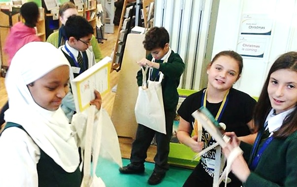 Takeover Day at St John's wood Library, November 2015