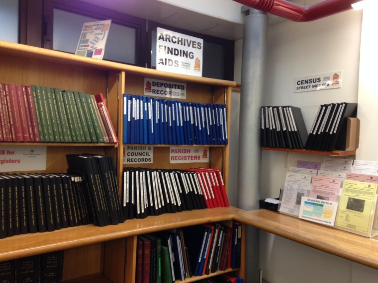Finding Aids at Westminster City Archives