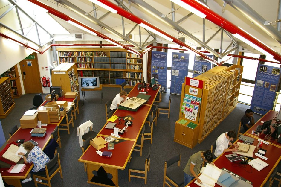 The Searchroom at Westminster City Archives