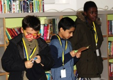 Ration book exploration - Queen's Park Library sleepover, December 2015