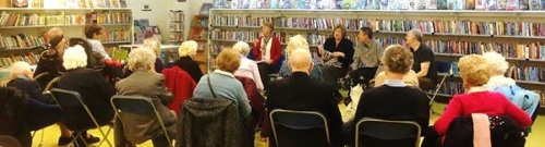 Crime@Christmas - Agatha Christie themed event with the Home Library Service, December 2015