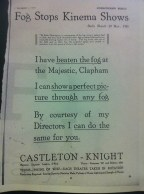 Castleton Knight advert, 1923