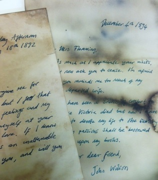 A letter... Queen's Park Library sleepover, December 2015