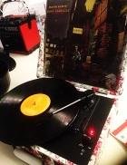 Record player... Queen's Park Library sleepover, December 2015