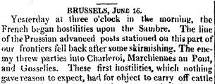 The Times, 21 June 1815