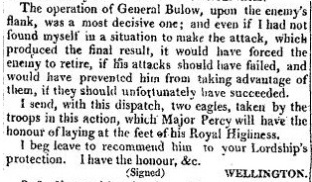 The Times, 23 June 1815