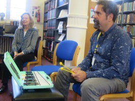 Humming in Harmony with Sergio Lopez Figuera (Big Bang Lab) at Westminster Music Library, January 2016