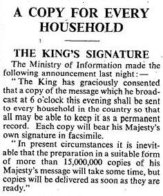 The Times, Monday 4 September 1939