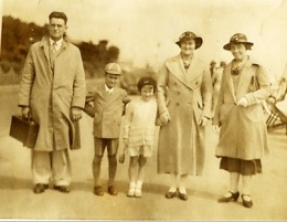 Family group, circa 1939