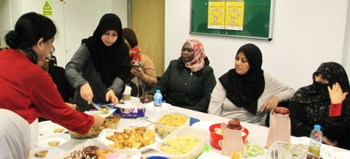 The Monday ESOL group at New Year New You, Church Street Library, January 2016