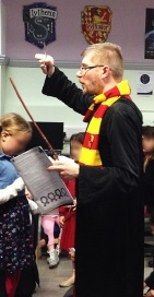 Harry Potter Book Night at Maida Vale Library, February 2016
