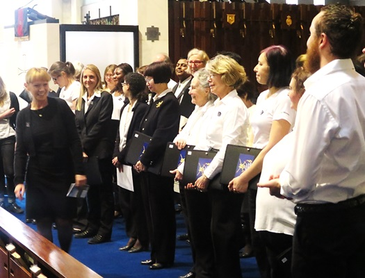 Ruth Walters and Joint Force Singers - concert, 19 March 2016