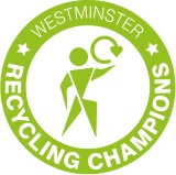 Westminster Recycling Champions logo