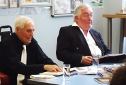 Author Barrie Stacey at Paddington Library, April 2016