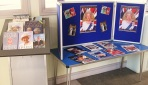 Queen Elizabeth II's 90th Birthday display at Maida Vale Library